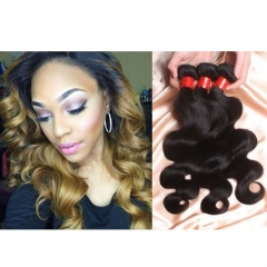【14A 4PCS】Brazilian Body Wave Human Hair 4 Bundles Lot Unproceed Virgin Hair Brazilian Body Wave Hair Extentsions