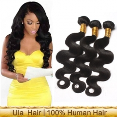 Ula Hair 6A Brazilian Human Hair Extensions Sales Free Shipping