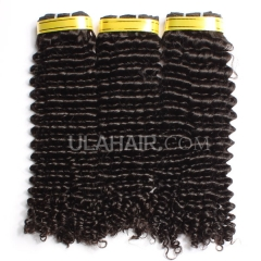 Ula Hair 7A Grade Malaysian Virgin Hair Deep Curly 3Bundles/Lot Malaysian hair Curly Deep Hair Extension