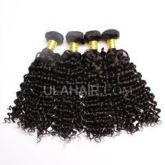 Ula Hair Mixed Length Malaysian Deep Wave Virgin Hair 13A Grade Malaysian Human Hair Curly Weave 4Bundles/Lot Free Shipping