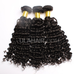 Ula Hair Malaysian Virgin Hair Deep Wave 13A Grade Malaysian Deep Wave Human Hair Extensions 3 Bundles Lot
