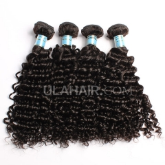Ula Hair Peruvian Virgin Hair Deep Wave Human Hair Extensions 4Bundles/Lot Peruvian Curly Hair Waving Free Shipping