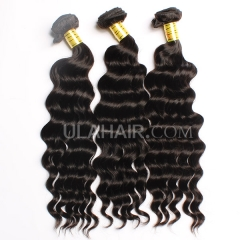 Ula Hair 13A Grade Wavy hair 3Bundles/lot Malaysian Virgin hair Loose Curly Top Quality Human Hair Extensions