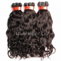 Ula Hair 13A 3Pcs/Lot Virgin Hair Brazilian Natural Wave Human Hair No Tangle No Shedding Brazilian Hair