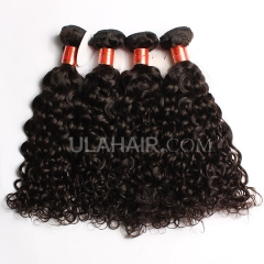 Ula Hair 7A Grade Italian Curly 3PCS/LOT Virgin Hair Extensions