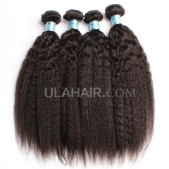 【13A 3pcs】Perauvian Virgin Hair Kinky Straight Curly Hair Kinky Straight Virgin Human Hair Bundles