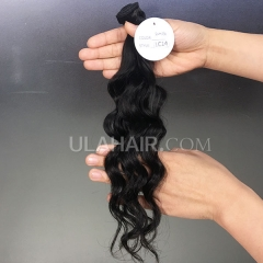 14A  Virgin Hair Loose Curl Hair Style Human Hair extension hot beauty hair weave Sample 1Pc