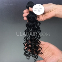 13A  Virgin Hair Deep Wave Hair Style Human Hair extension hot beauty hair weave Sample 1Pc