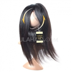 Ula Hair New Arrival 360 Lace Frontal Straight Human Hair Free Shipping