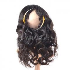Ula Hair New Arrival 360 Lace Frontal Human Hair body wave Free Shipping