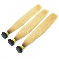 Ula Hair 13A 3 bundle deal T1B/#613 Russian Straight  blonde hair extension Free Shipping