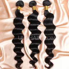 【8A 3PCS】Ula Hair New 8A 3 Bundles Deal Brazilian Virgin Hair More Wave Wavy