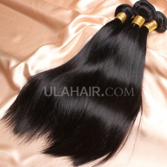 【14A 3PCS】 3 Bundles Deal Peruvian Virgin Hair Straight Hair
