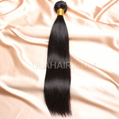 【14A 1PCS】1pc Grade Brazilian Virgin Straight Hair 14A 1pc Grade Peruvian Virgin Hair Straight Human Hair Extensions  Straight Virgin Hair
