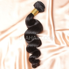 【8A 1PCS】Ula Hair 8A 1pc Grade Brazilian Loose Wave Virgin Hair 8A 1pc Grade Brazilian Virgin Hair Human Hair Extensions Wavy Virgin Hair