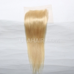 【Lace Closure】Ula Hair 13A Human Hair Lace Closure  613* Straight Lace Closure Brazilian Virgin Hair Retail 1Pc