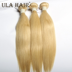 【13A 3PCS】 3 bundle Unit #613 Virgin Hair Blonde Straight Hair Extension Free Shipping for Retail