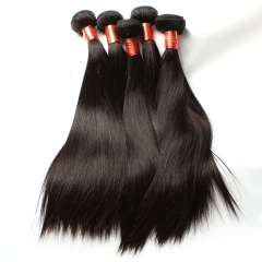 【12A 3PCS】Peruvian Straight Virgin Human Hair 3 bundles High Quality Hair Weave Free Shipping