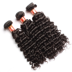【12A 3PCS】Peruvian Deep Wave 3 bundles Virgin Deep Curly Human Hair Free Shipping