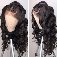 13A Full Lace Wigs 150% Density Loose Wave Virgin Hair Full Lace Human Hair Wigs For Black Women Hair Customize in 7 Days