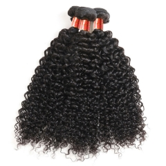 【12A 3PCS】Virgin Hair Malaysian Jerry Curly  Virgin Human Curly Hair 3 Bundles Free Shipping
