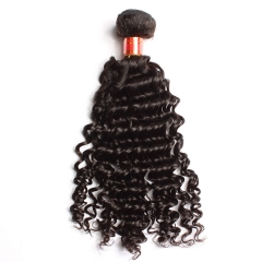 【12A 1PCS】Deep Wave Hair Virgin  Brazilian Hair Brazilian Deep Wave Hair Hair Bundle