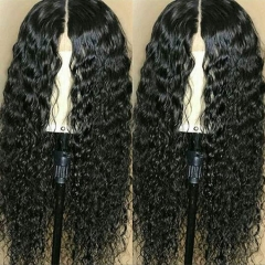 13A Deep Curly 13x6 Lace Front Wigs 150% Density Lace Frontal Virgin Human Deep Wave Hair Lace Wigs