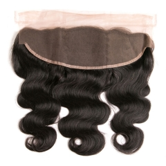 【12A】Body Wave 13x4 Lace Frontal Closure Natural 1B# Color