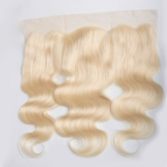 #613 Lace Frontal Closure Body Wave #613 Blonde Color 13''x4 Lace Frontal  Closure Virgin Hair