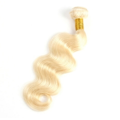 【12A 1PCS】Malaysian Body Wave 1pc #613 Body Wave Hair Extensions Hair Bundle 100% Human Hair Bundle